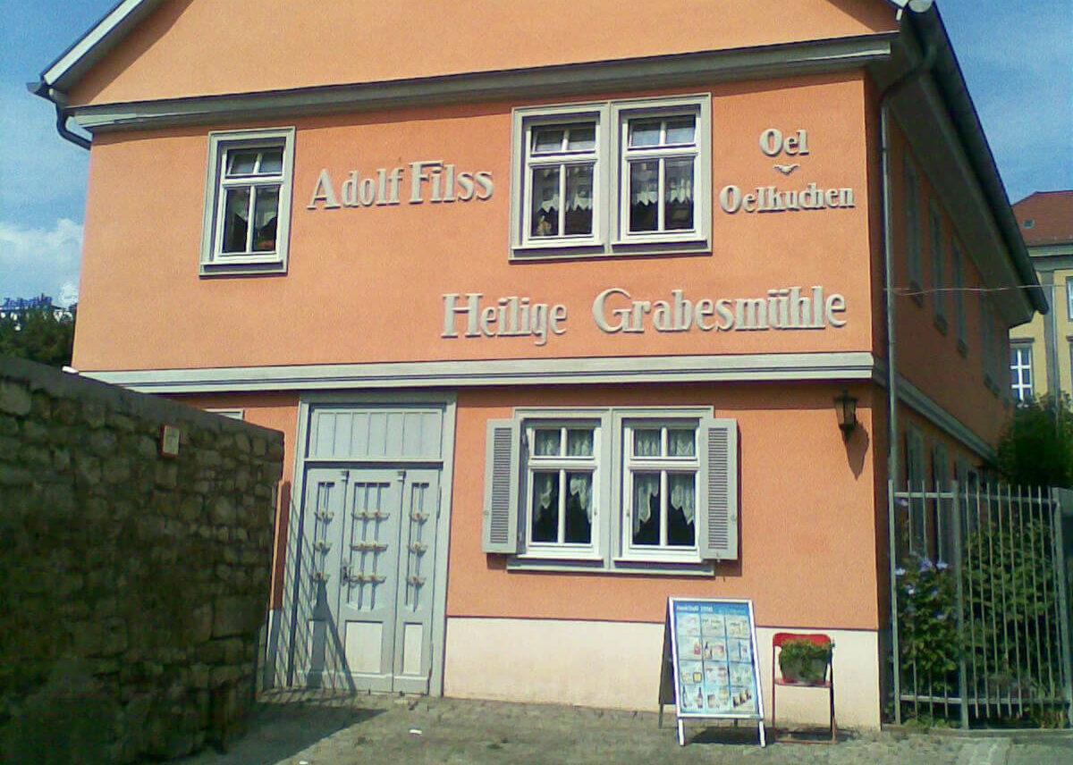 Historisches Verwaltungsgebäude der Erfurter Ölmühle
