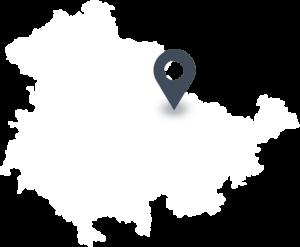 Karte mit dem Standort von Filinchen