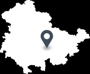 Karte mit dem Standort der Molkerei HERZGUT