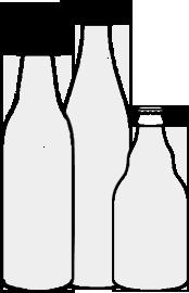 Bügel-Flasche, NRW-Flasche, Steinie-Flasche