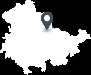 Karte mit dem Standort von HEXEN-Eis