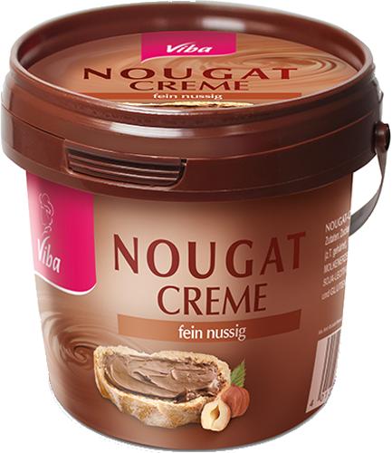 Eine Dose Nougat-Creme
