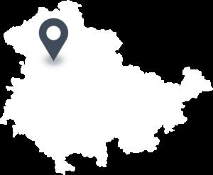 Karte mit dem Standort von Schweizer Naturkost