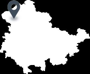 Karte mit dem Standort von HÜBACK