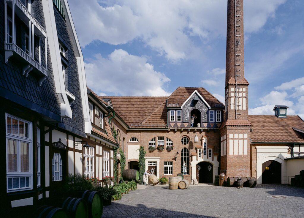 Gebäude der Echten Nordhäuser Traditionsbrennerei