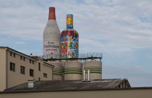 Firmengebäude von Nordbrand Nordhausen