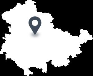 Karte mit dem Standort vom Magdalenengut