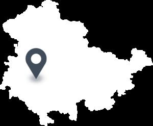 Karte mit dem Standort von Viba