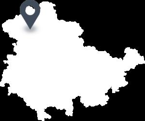 Karte mit dem Standort von Dün-Fleisch
