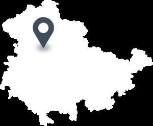 Karte mit dem Standort von Fleischmarkt Aschara