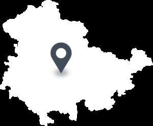 Karte mit dem Standort von Die Thüringer