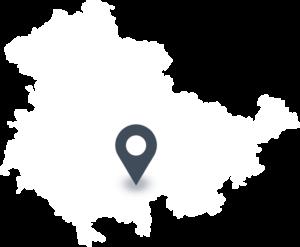 Karte mit dem Standort von NATUR-Fleisch