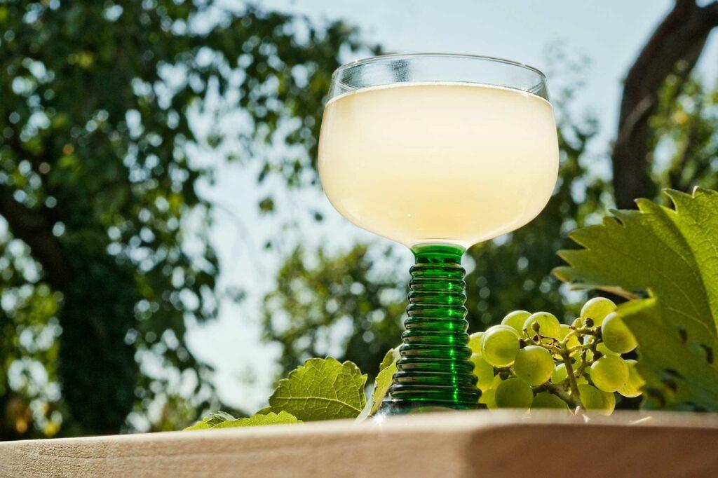 Ein Glas Federweißer